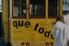 En af de berømte sporvogne i Lissabon, 2000/01