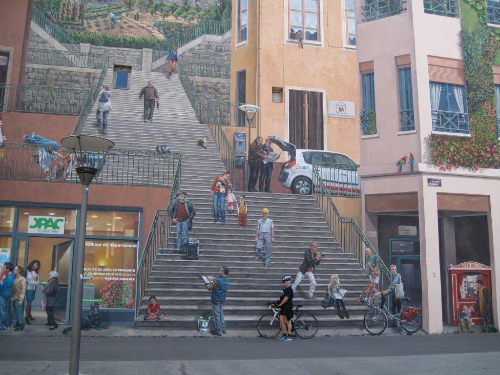 Lyon vægmaleri