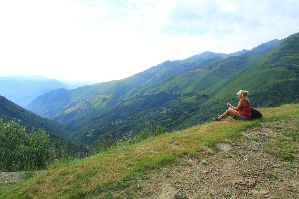am på bjerg