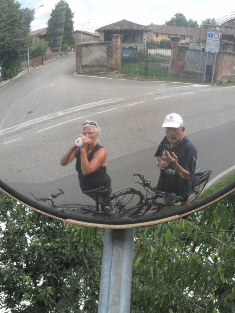 pavia selfie