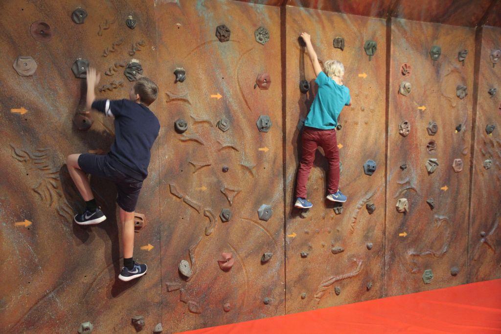 K-tur klatrevæg