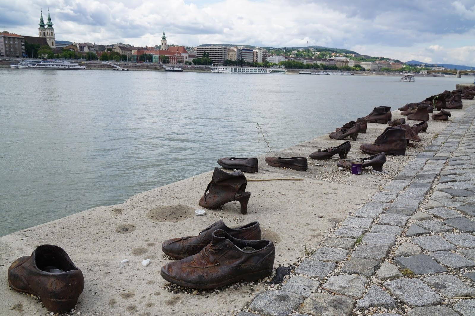 Jødisk sko monument